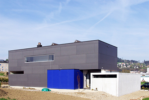 Einfamilienhaus Meier Grau Uzwil