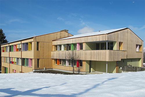 Schulhaus Russen Mogelsberg